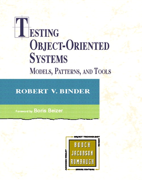 Testing Object-Oriented Systems: Models, Patterns, and Tools (ARP/AOD) (paperback)