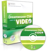 Learn Adobe Dreamweaver CS4 by Video: Core Training in Web Communication, Online Video