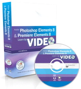 Learn Adobe Photoshop Elements 8 and Adobe Premiere Elements 8 by Video, Online Video