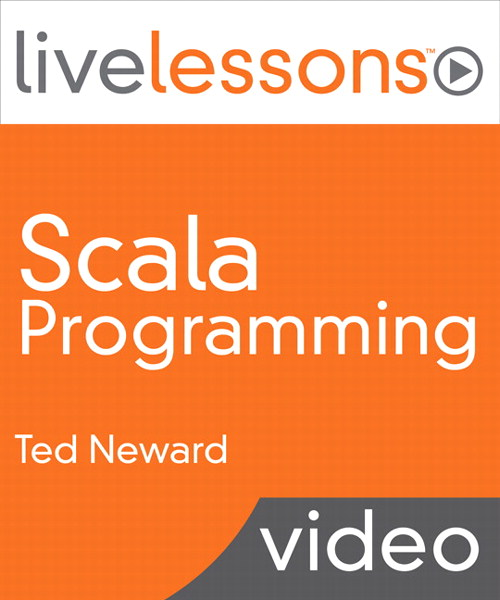 Scala Programming LiveLessons (Video Training), Downloadable Video