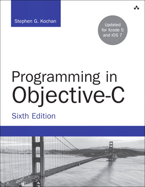 Programming in Objective-C, 6th Edition