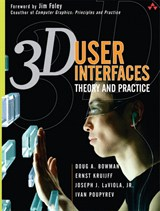 3D User Interfaces: Theory and Practice (paperback)