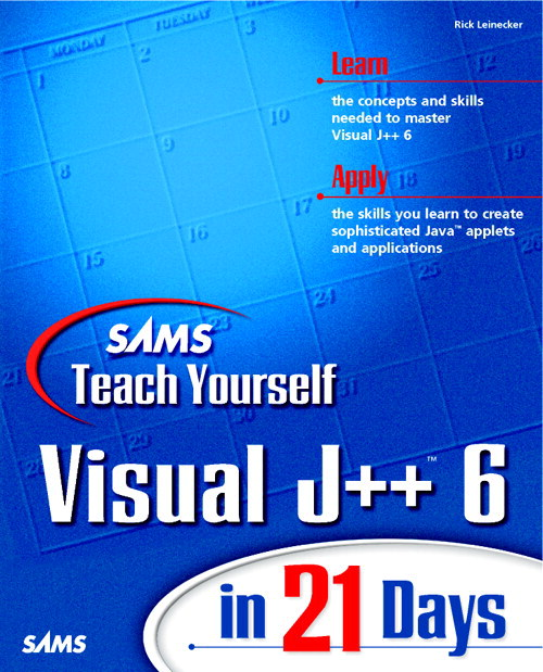 Sams Teach Yourself Visual J++ 6 in 21 Days