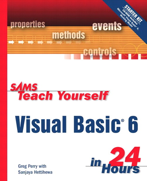 Sams Teach Yourself Visual Basic 6 in 24 Hours