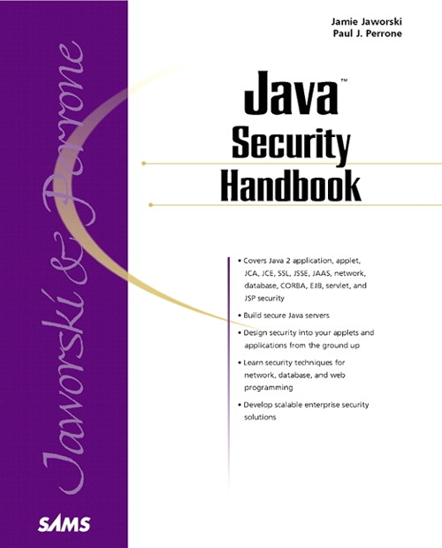 Java Security Handbook