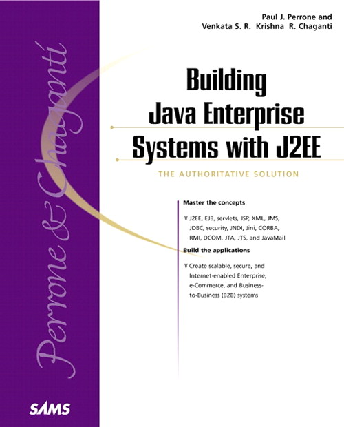 Building Java Enterprise Systems with J2EE