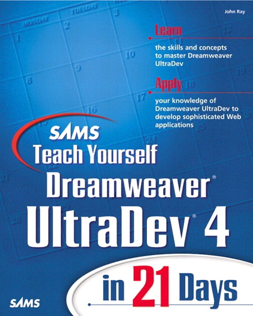 Sams Teach Yourself Dreamweaver UltraDev 4 in 21 Days
