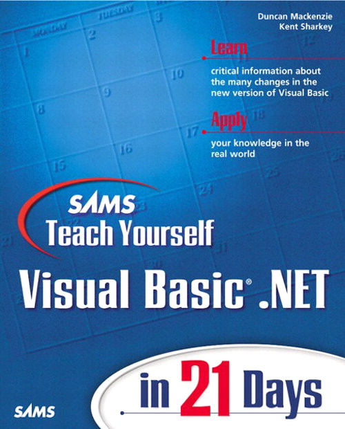 Sams Teach Yourself Visual Basic .NET in 21 Days