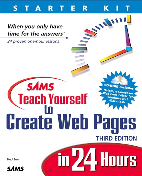 Sams Teach Yourself to Create Web Pages in 24 Hours, 3rd Edition