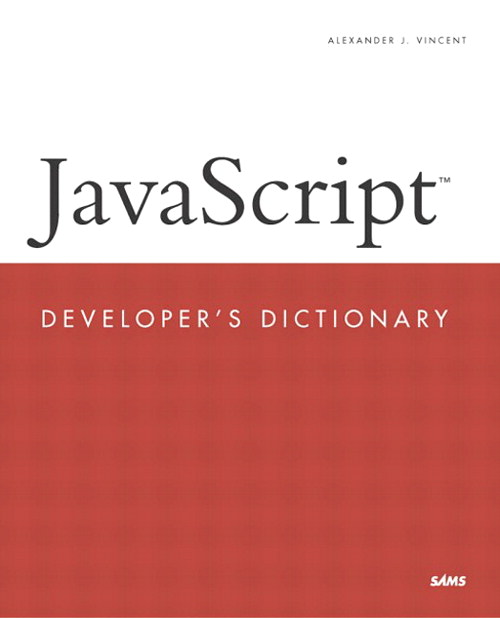 JavaScript Developer's Dictionary