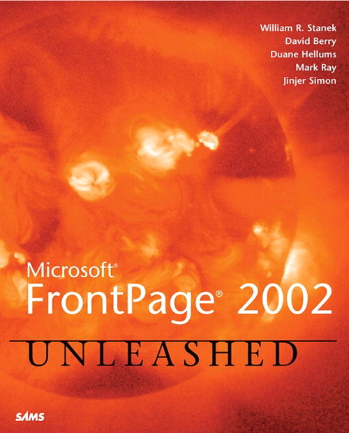 Microsoft FrontPage 2002 Unleashed