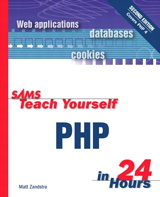 Sams Teach Yourself PHP in 24 Hours, 2nd Edition