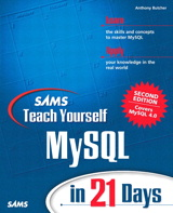 Sams Teach Yourself MySQL in 21 Days, 2nd Edition