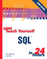 Sams Teach Yourself SQL in 24 Hours, 3rd Edition