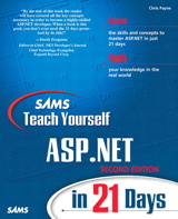 Sams Teach Yourself ASP.NET in 21 Days, 2nd Edition