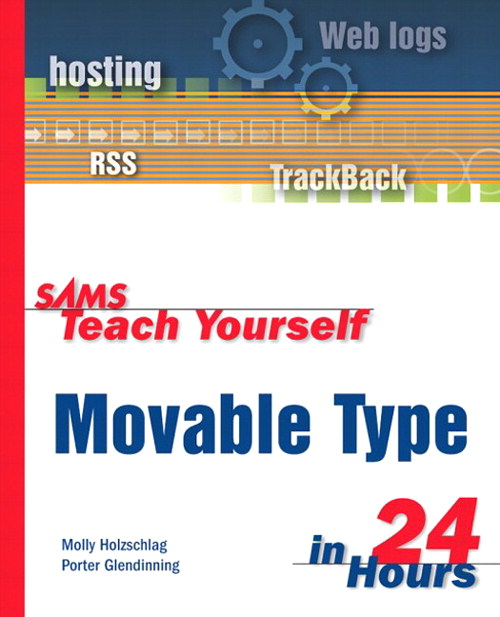 Sams Teach Yourself Movable Type in 24 Hours