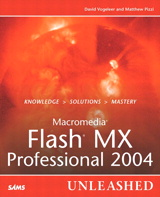 Macromedia Flash MX Professional 2004 Unleashed