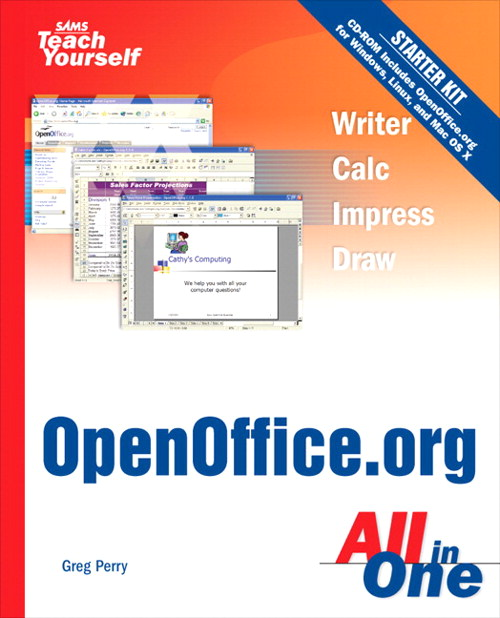 Sams Teach Yourself OpenOffice.org All In One