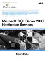 Microsoft SQL Server 2000 Notification Services