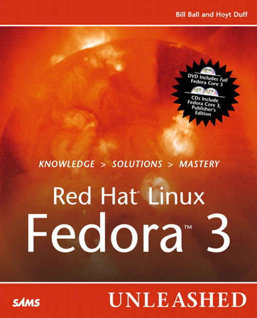 Red Hat Linux Fedora 3 Unleashed