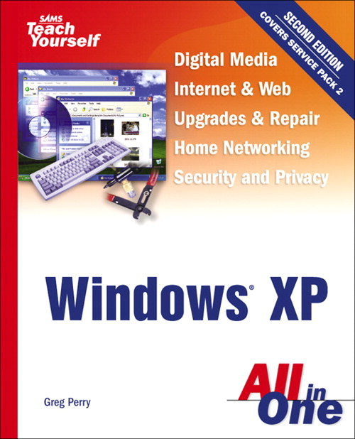 Sams Teach Yourself Windows XP All in One, 2nd Edition