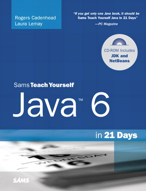 Sams Teach Yourself Java 6 in 21 Days, 5th Edition