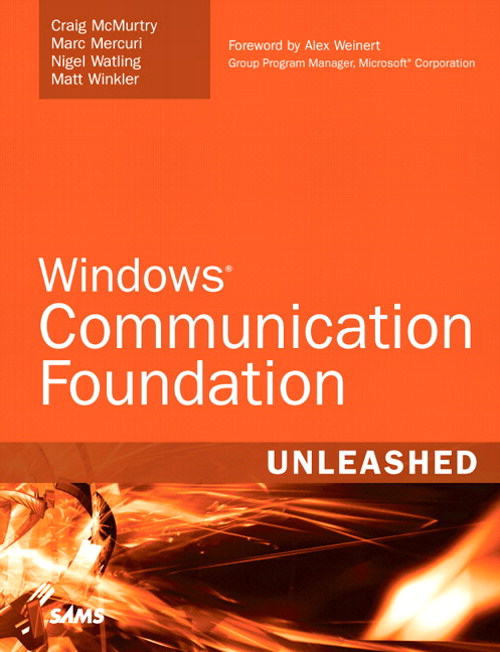 Windows Communication Foundation Unleashed (WCF)