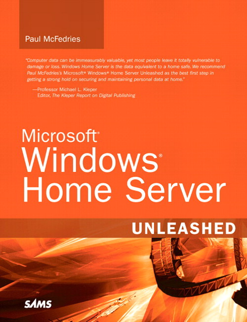 Microsoft Windows Home Server Unleashed
