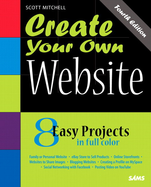 Create Your Own Website, 4th Edition