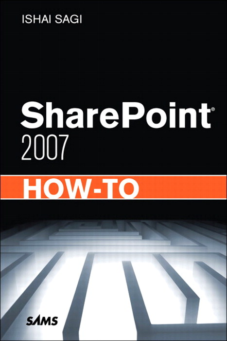 SharePoint 2007 How-To