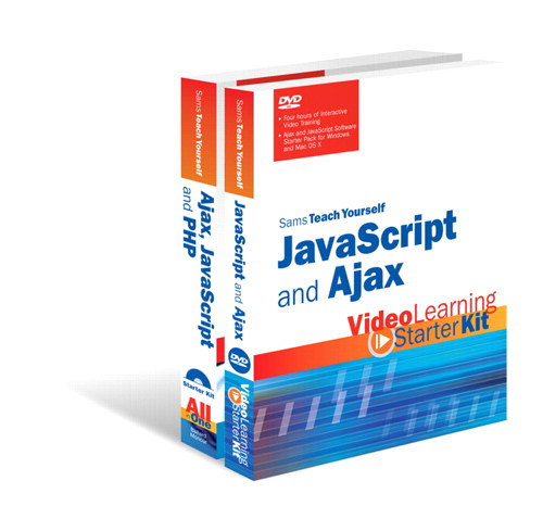 Sams Teach Yourself JavaScript and Ajax: Video Learning Starter Kit Bundle
