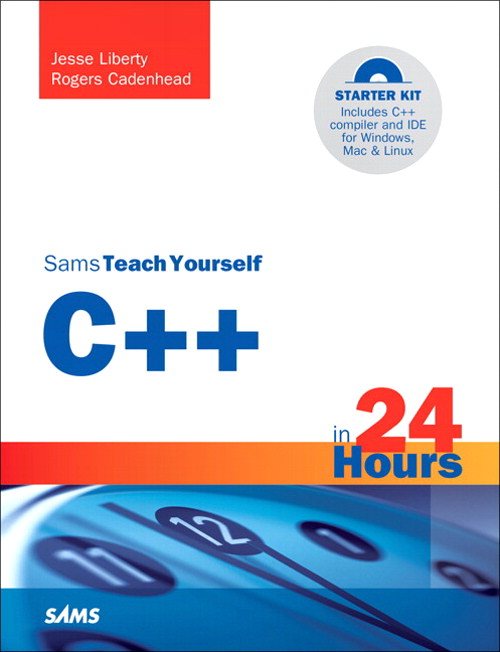 Sams Teach Yourself C++ in 24 Hours, 5th Edition