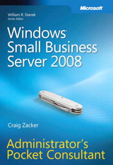 Windows Small Business Server 2008 Administrator's Pocket Consultant