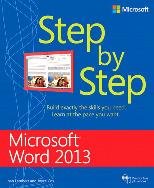 Microsoft Word 2013 Step By Step