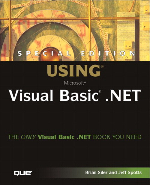 Special Edition Using Visual Basic.NET