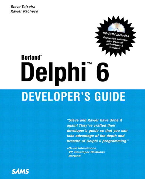 Delphi 6 Developer's Guide