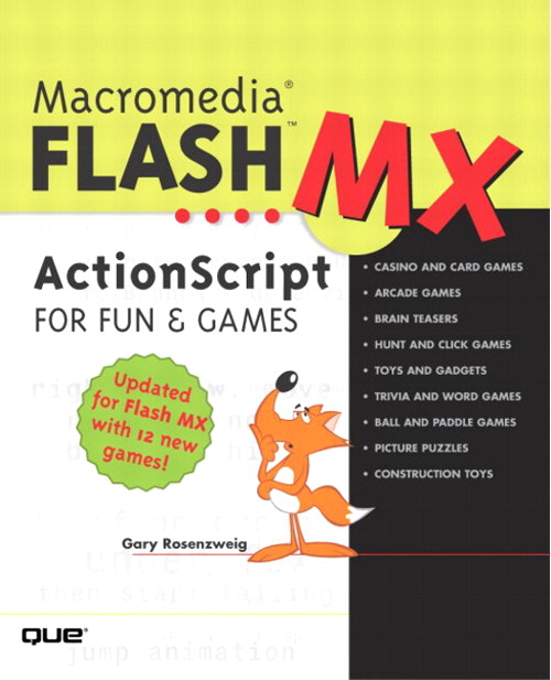 Macromedia Flash MX ActionScript for Fun and Games