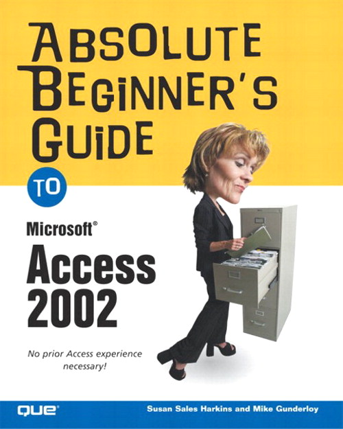 Absolute Beginner's Guide to Microsoft Access 2002