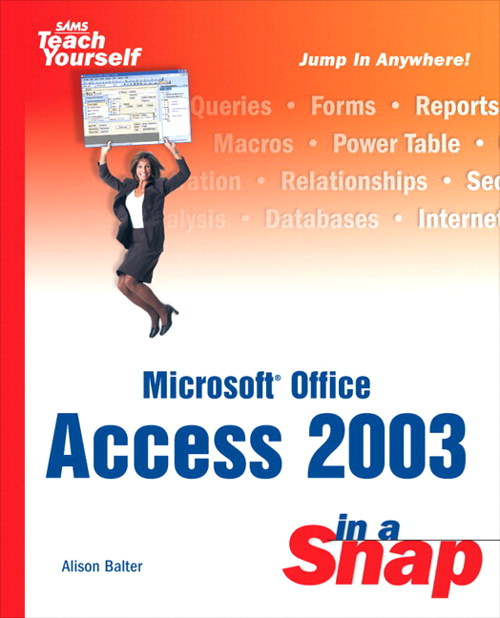 Microsoft Office Access 2003 in a Snap, Adobe Reader