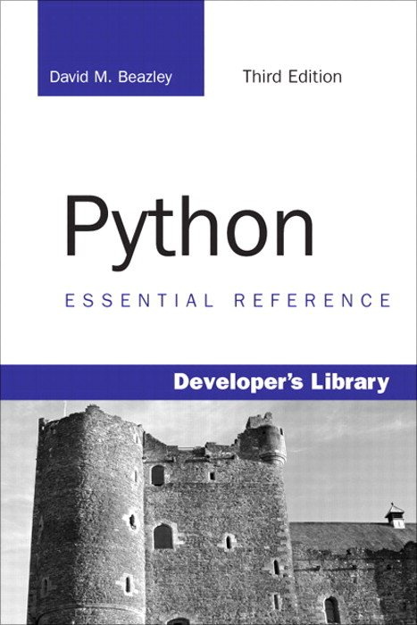 Python Essential Reference, Adobe Reader, 3rd Edition