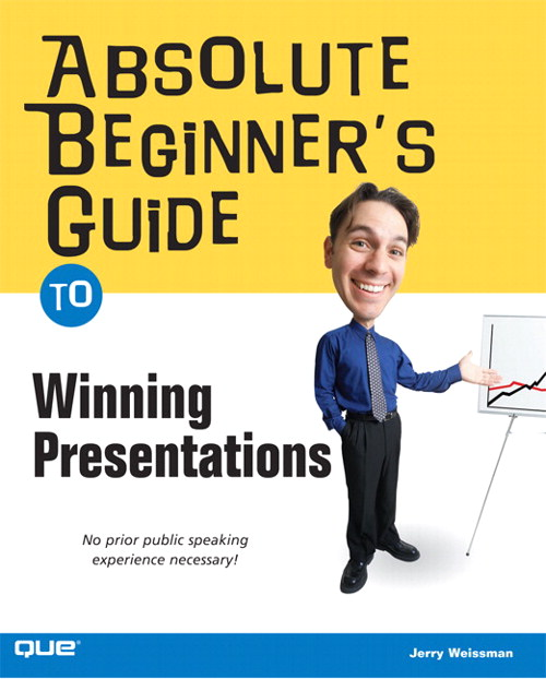 Absolute Beginner's Guide to Winning Presentations, Adobe Reader
