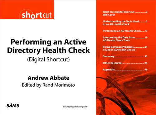 Performing an Active Directory Health Check (Digital Short Cut)