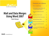 Mail and Data Merges Using Word 2007 (Digital Short Cut)