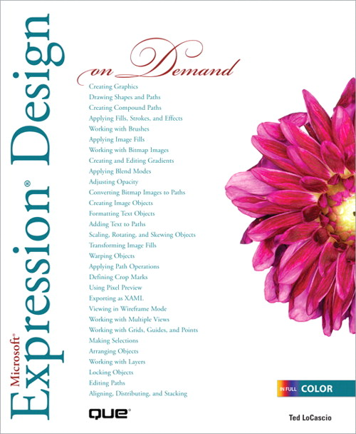 Microsoft Expression Design on Demand (Adobe Reader)