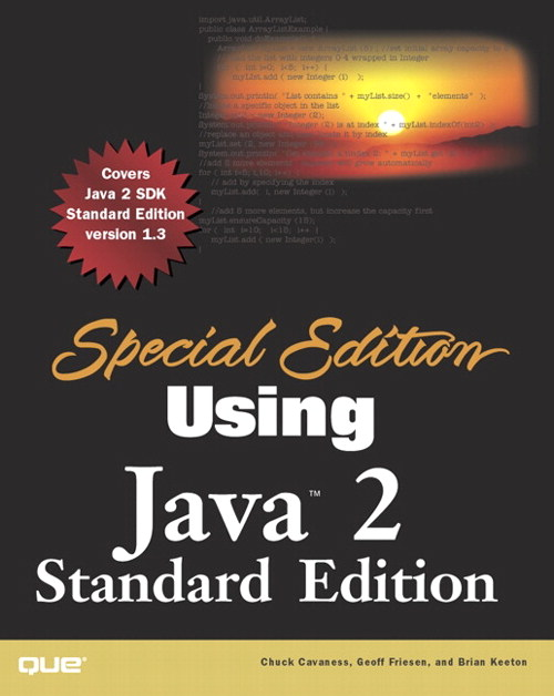 Special Edition Using Java 2, Standard Edition