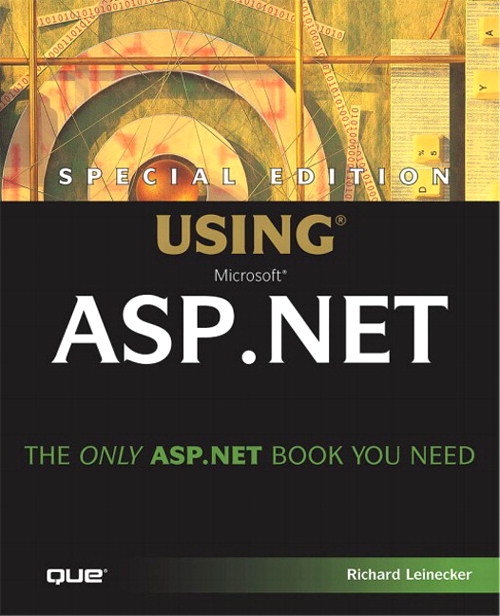 Special Edition Using ASP.NET