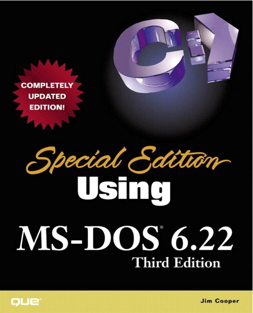 Special Edition Using MS-DOS 6.22, 3rd Edition