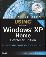 Special Edition Using Windows XP Home Edition, Bestseller Edition