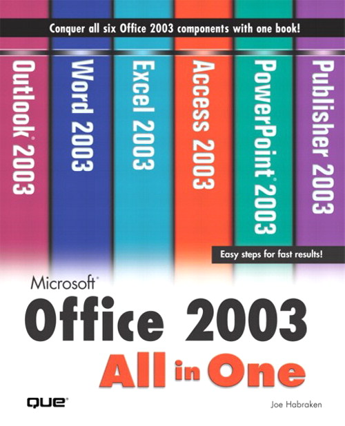 Microsoft Office 2003 All-in-One