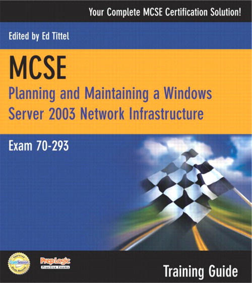 BIXLER:MCSE 70-293 TRAING GUIDE _p1